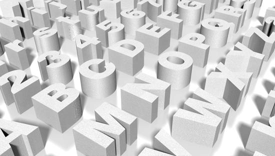 letras de corcho online