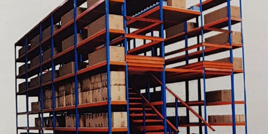 las estanterías para almacén de segunda mano