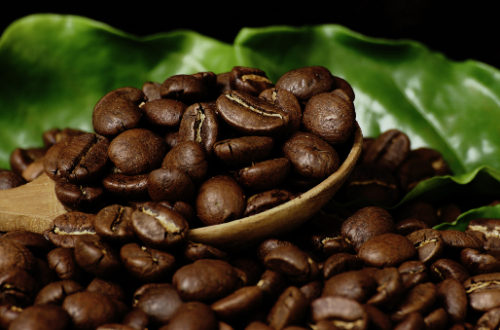 Café natural en grano