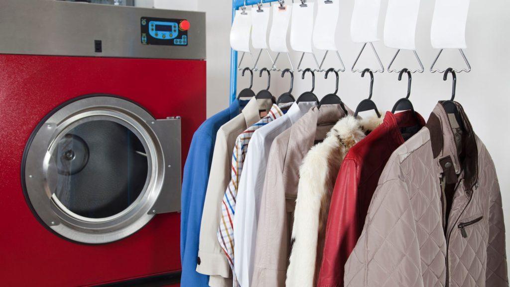 mantenimiento de una lavandería